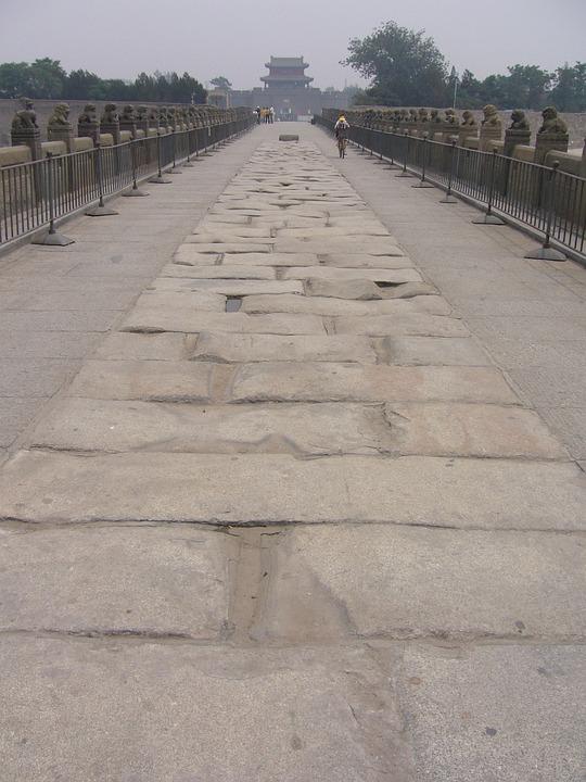 China, Beijing, Bridge, Marco Polo Bridge, Lugou Bridge
