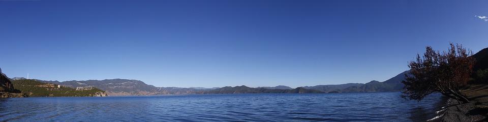 Lugu Lake, In Yunnan Province, Girl Country