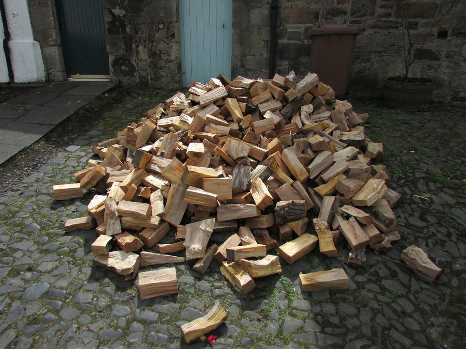 Wood, Woodpile, Firewood, Lumber, Stack, Timber, Log