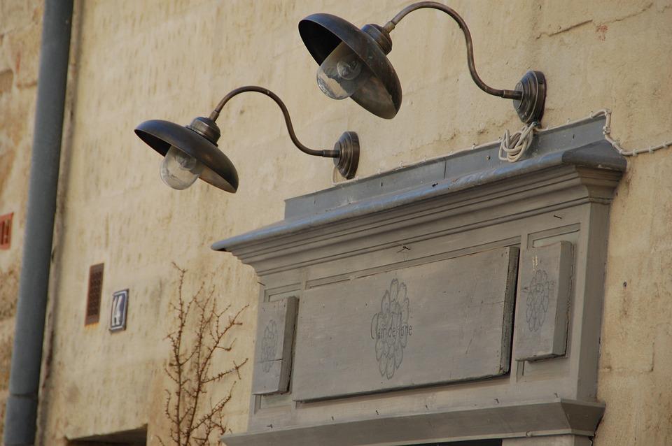 Luminaire, Bulb, Facade