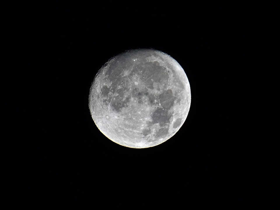 Moon, Astronomy, Lunar, Luna, Apollo, Full Moon