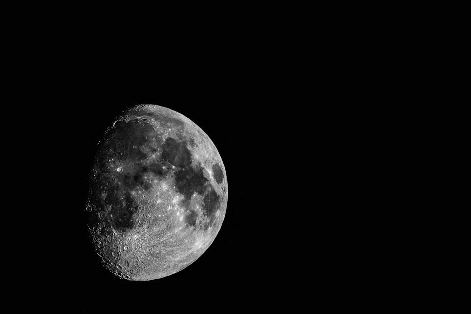 Moon, Astronomy, Luna, Crater, Apollo, Eclipse, Planet