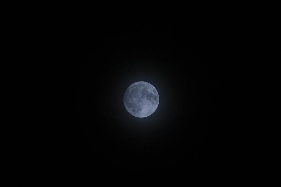 Moon, Luna, Full