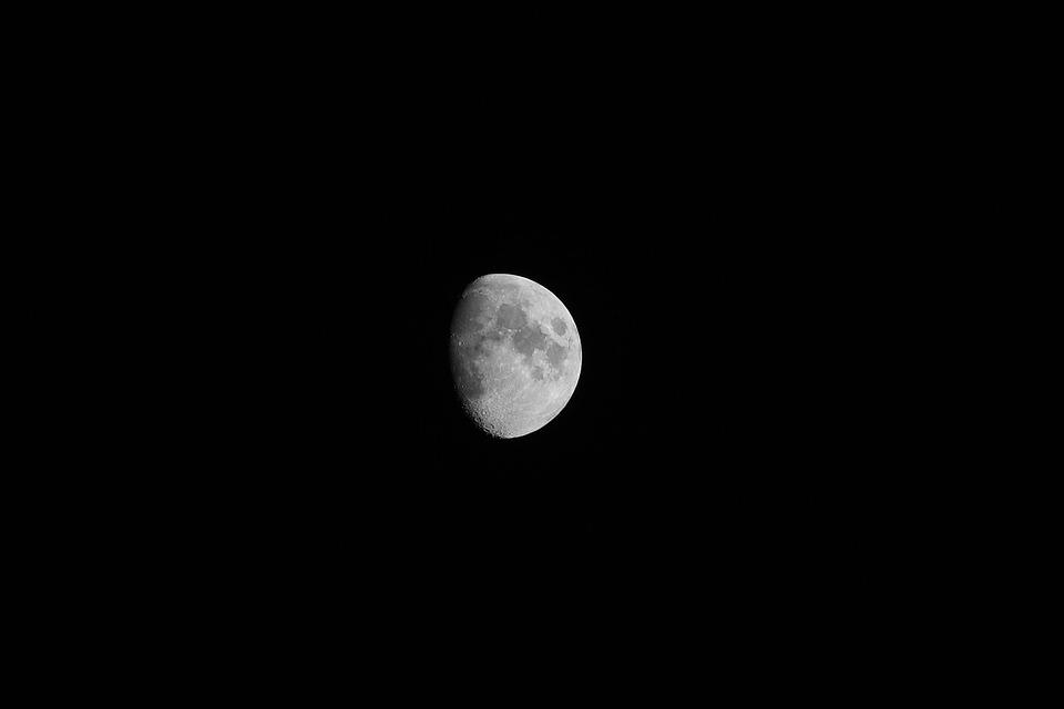 Moon, Night, Mystical, Astronomy, Nature, Luna