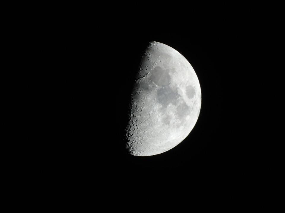 Luna, Night, Sky, Nero, Part