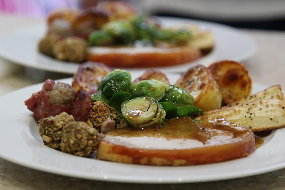 Christmas Dinner, Family Dinner, Delicious, Lunch