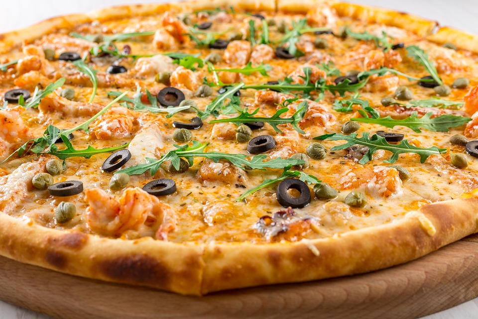 Pizza, Baking, Fast Food, Lunch, U, Business-lunch