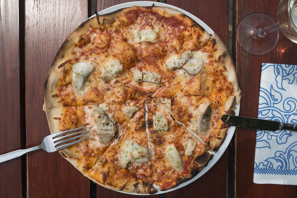 Food, Meal, Pizza, Crispy, Lunch, Gourmet, Cheese