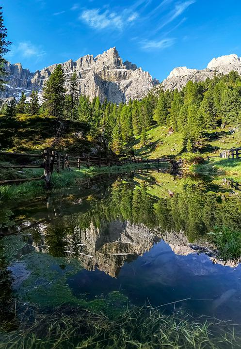 Piz Doleda, Dolomites, Teraladina, Lungiarü, Puez