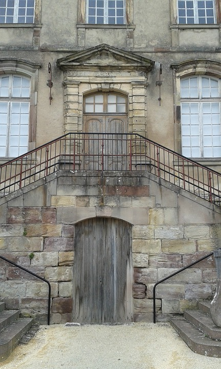 France, Lunville, Castle, Input, Stairs, Goal