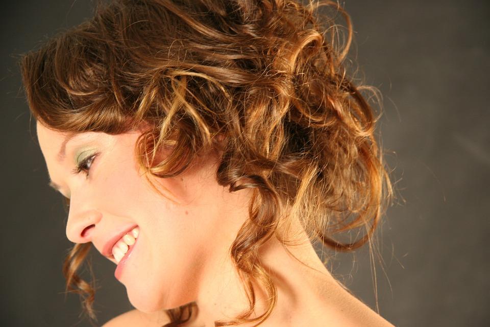 Girl, Portrait, Hair, Pretty, Braunet, Lure, Laugh