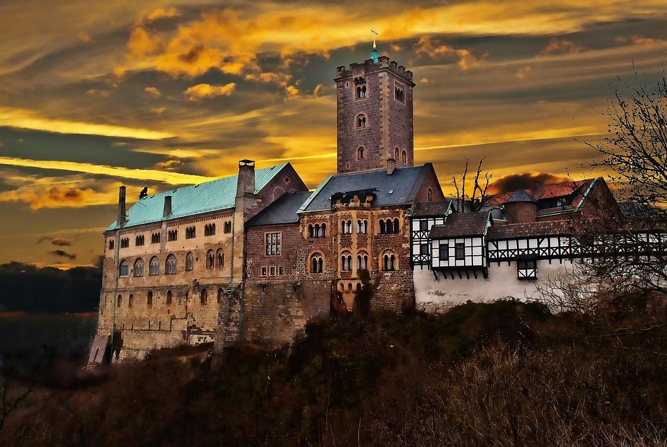 Thuringia Germany, Eisenach, Wartburg Castle, Luther