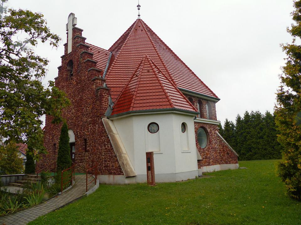 Heviz, Church, Lutheran Church Community, Architecture