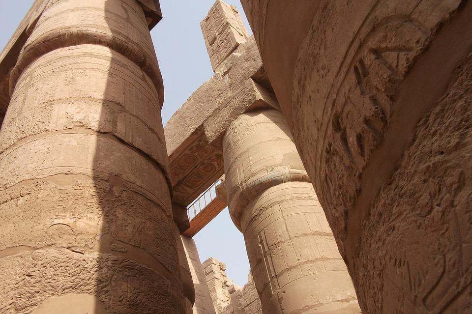 Columnar Temple, Egypt, Luxor, Places Of Interest