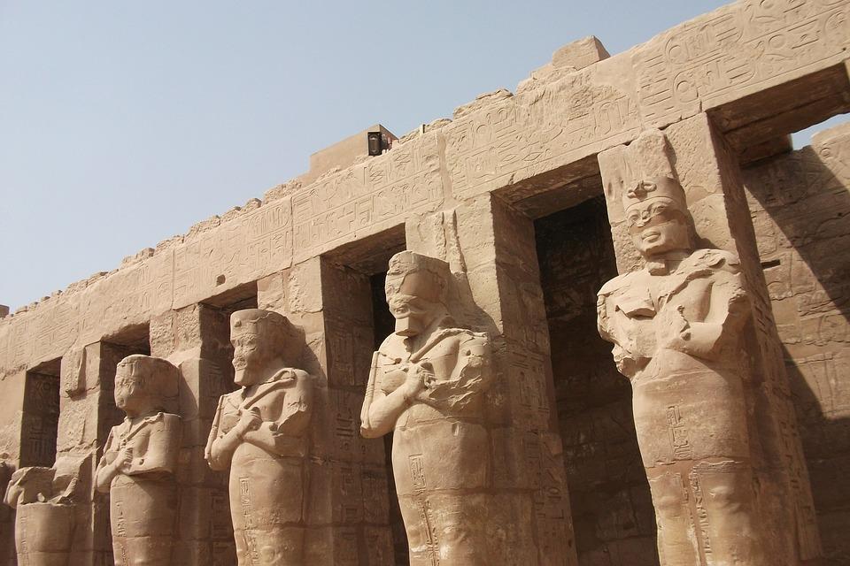 Luxor, Temple, Egypt, Pharaohs, Temple Complex, Statue