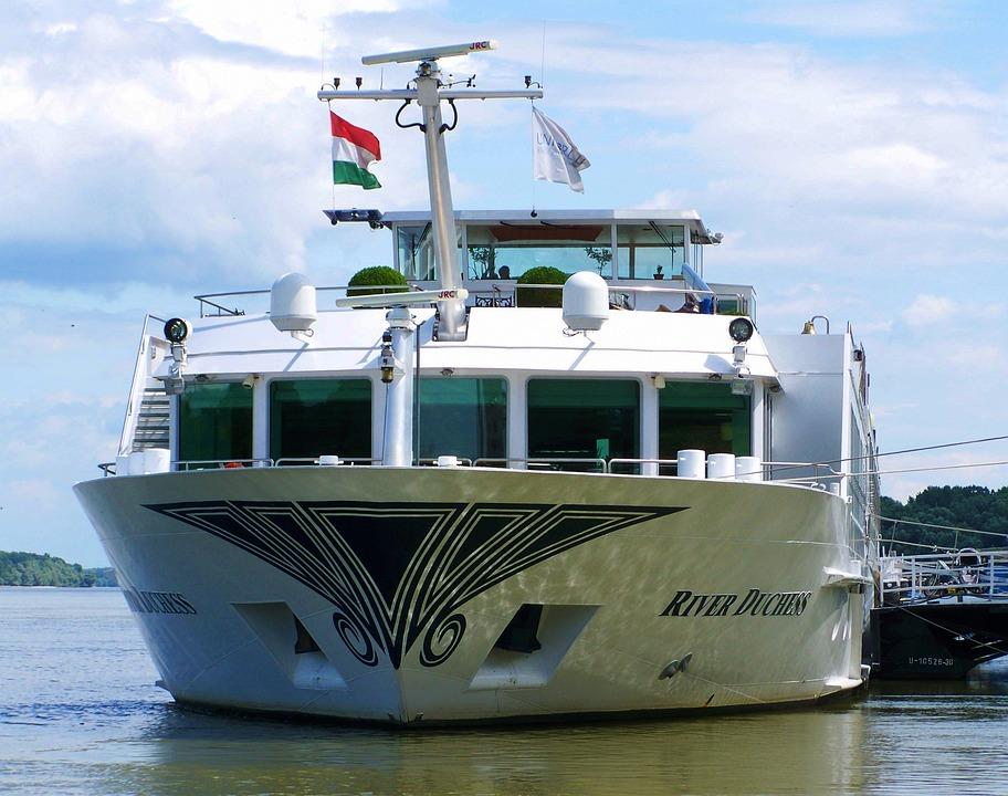 Luxury Boat, Danube, Pier Mohács