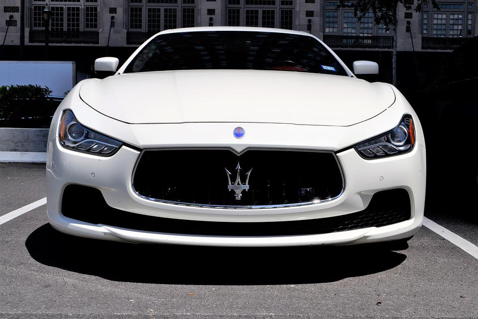 Maserati, Grand Turismo, Luxury Car, Front, Vehicle