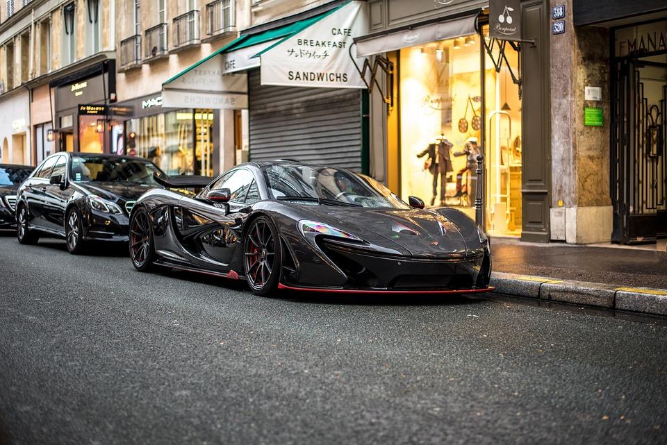 Mclaren, P1, V8, Paris, France, Car, Luxury, Luxury Car