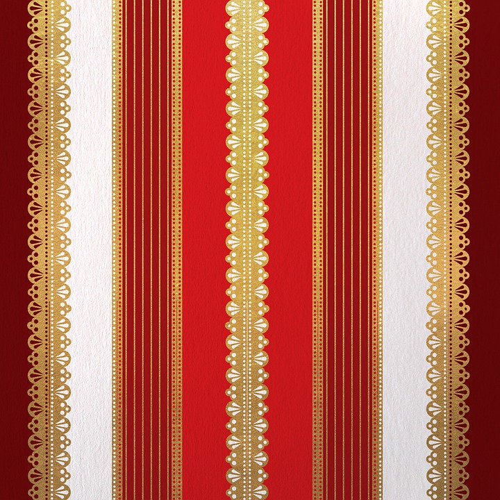 Lace, Golden, Red, Luxury, Background, Scrapbooking
