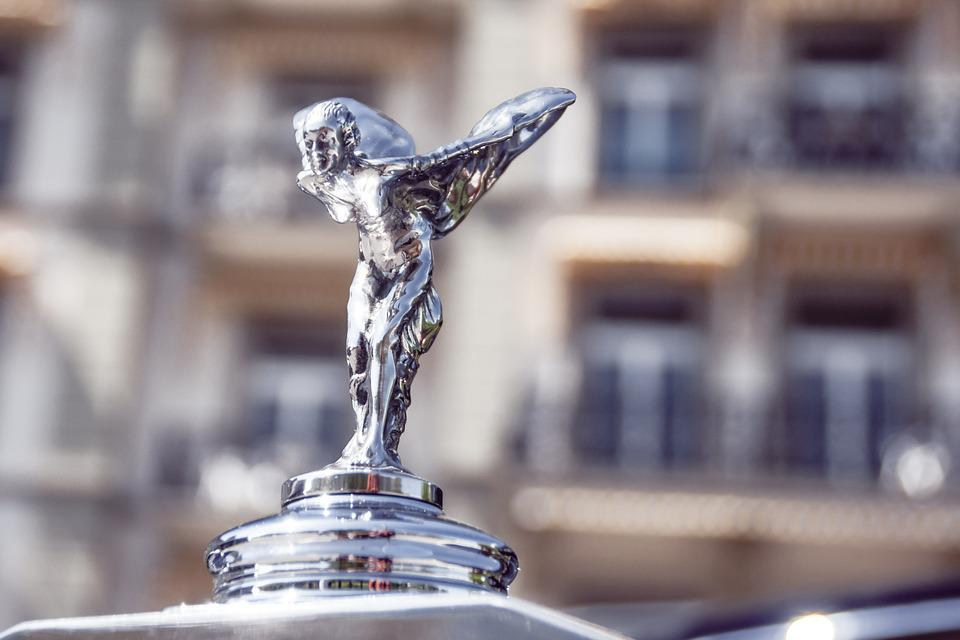 Hood Ornament, Radiator Mascot, Brand, Logo, Luxury