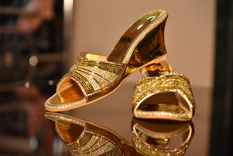Gold, Luxury, Fashion, Shining, Decoration, Sandal