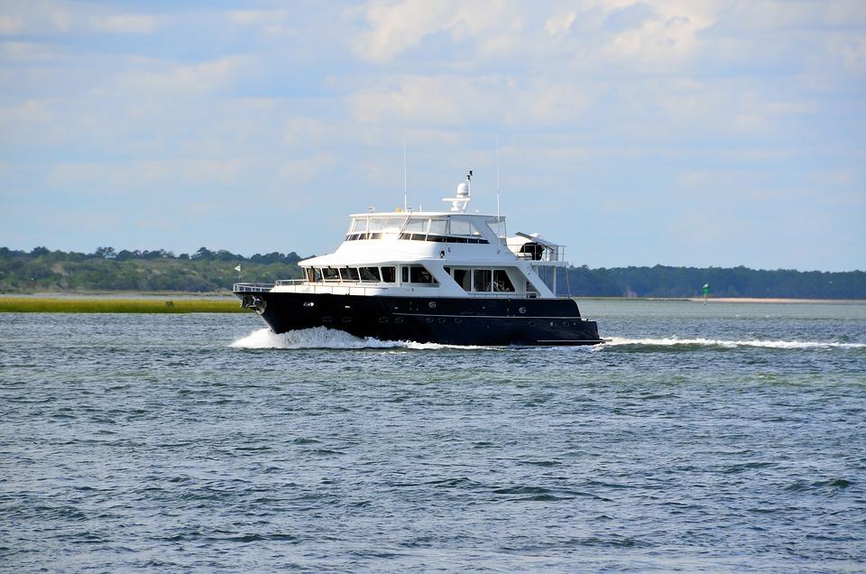 Luxury Yacht, Cruising, River, Boat, Yacht, Cruise