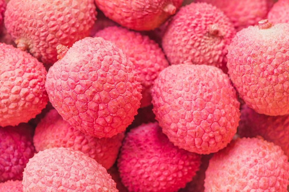 Lychee, Fruits, Pink, Food, Fruit, Eat, Healthy
