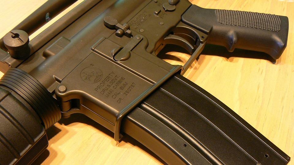 Gun, M4a1, Ar-15, Carbine, Assault, Rifle, M16, Colt