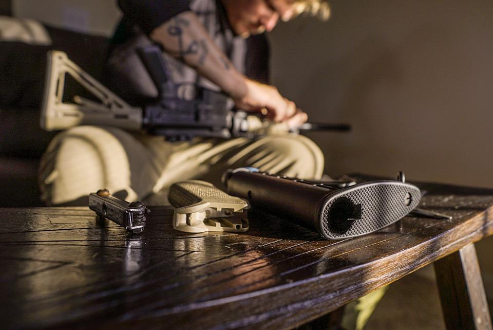 Gun, Gunsmith, Ar-15, Rifle, Ar15, M16, Sniper, M4a1