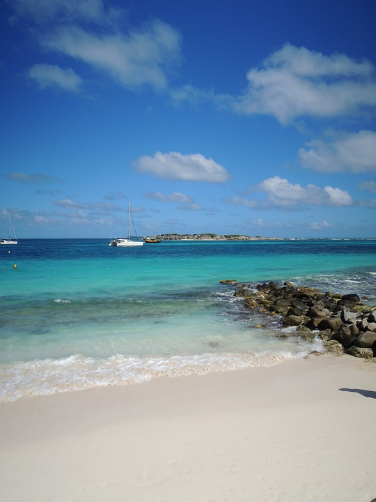Saint, Maarten, Dutch, Antilles, Water, Holiday