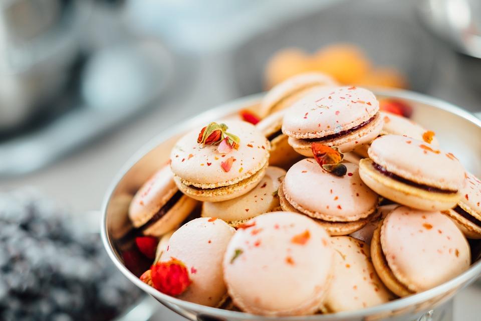 Dessert, Food, Macaroons, Macro, Pastries, Sweets