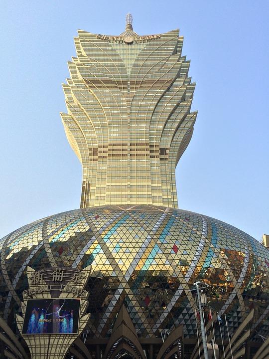Macau, Gambling, Glass, Architecture