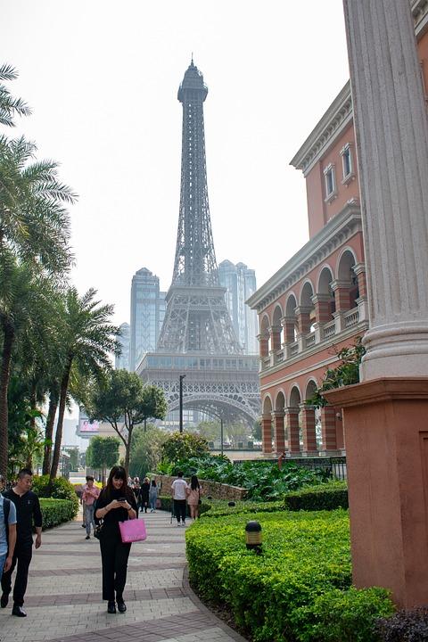 Eiffel Tower, Paris, Macao, Macau, China, The Parisian