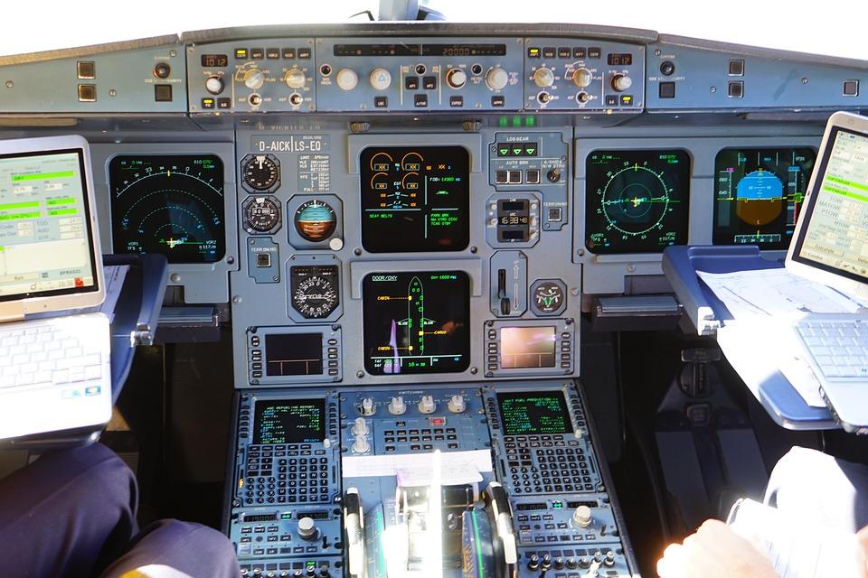 Aircraft, Cockpit, Aviation, Machine