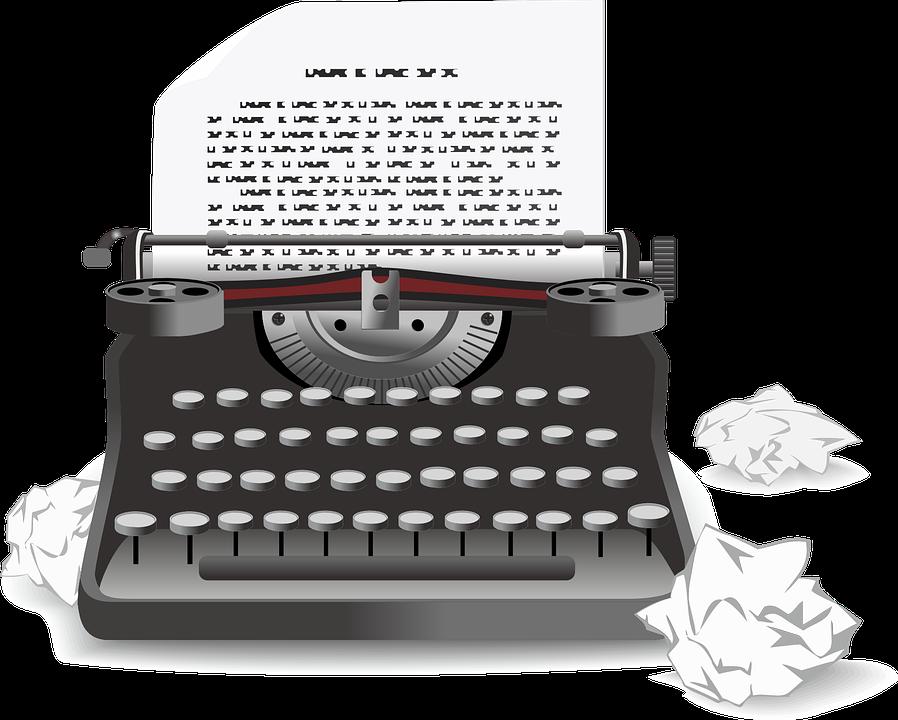 Typewriter, Antique, Old, Machine, Mechanical, Metal