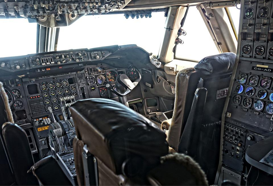 Cockpit, Antonov, Aircraft, Machine, Fly