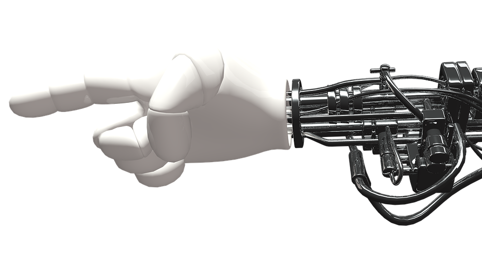 Hand, Robot, Machine, Artificial Intelligence