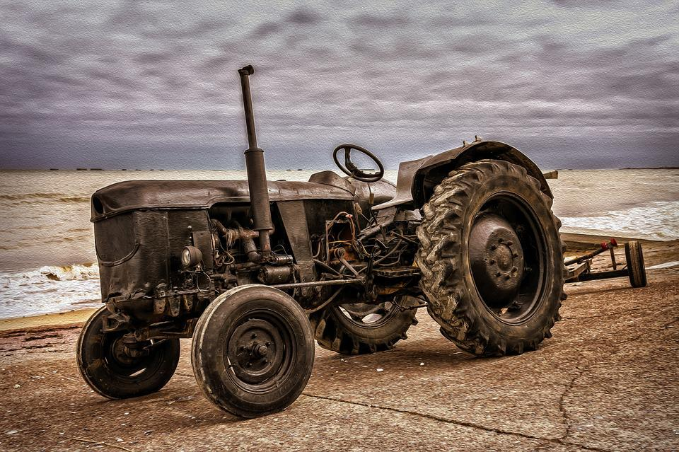 Tractor, Machine, Vehicle, Old, Oldtimer, Historically