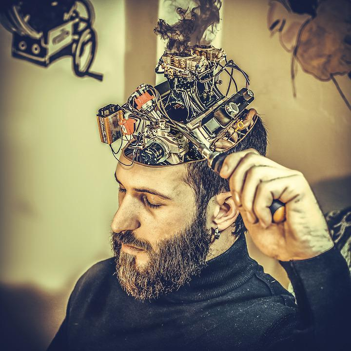 Free Photo Machine Mechanical Brain Man Manipulation Max