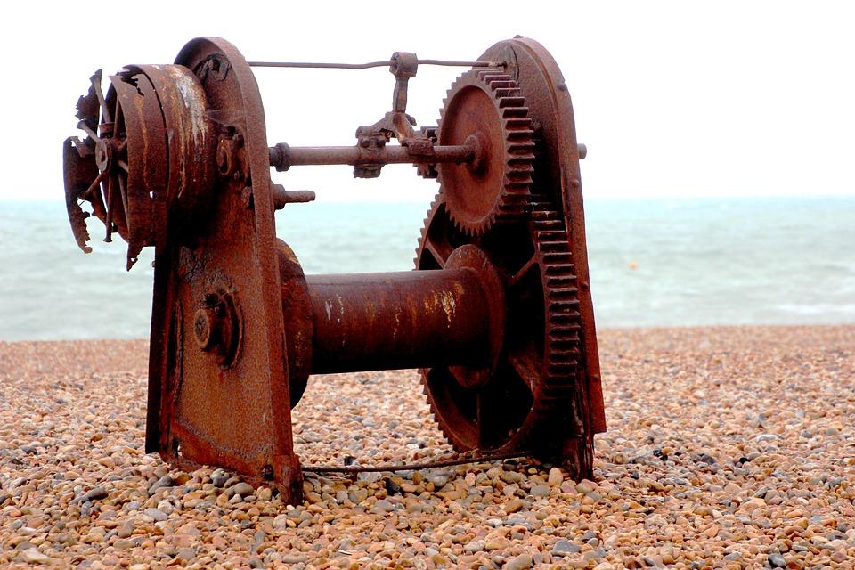 Rusty, Machine, Old, Metal, Vintage, Equipment, Iron