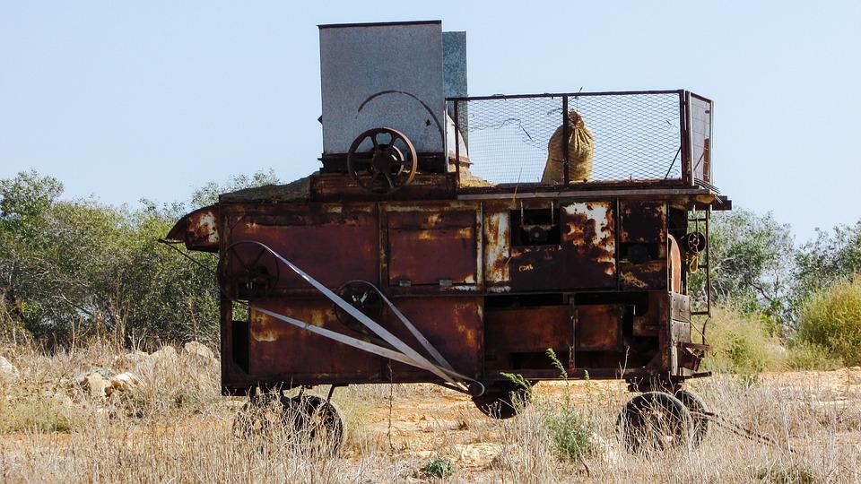 Packing Machine, Old, Rusty, Machine, Abandoned