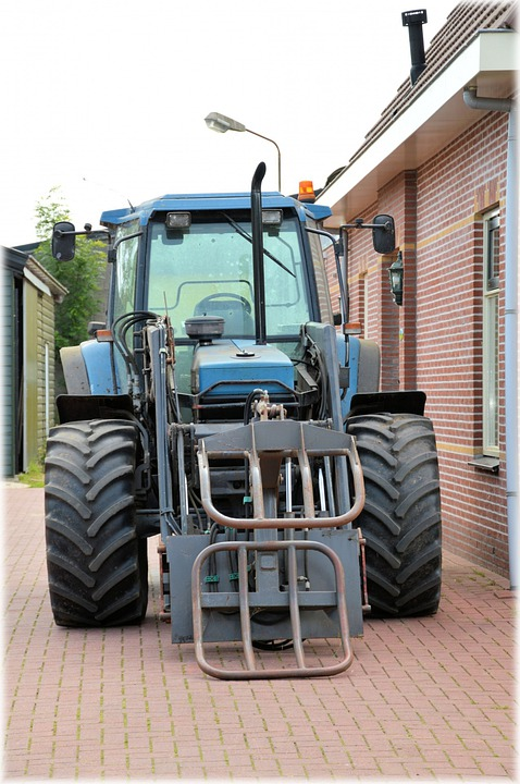 Tractor, Machinery, Agricultural Tools, Crops, Farm