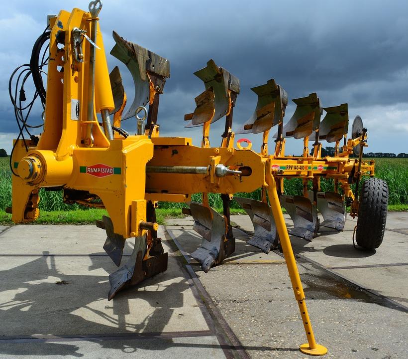 Machine, Industry, Equipment, Tractor, Machinery