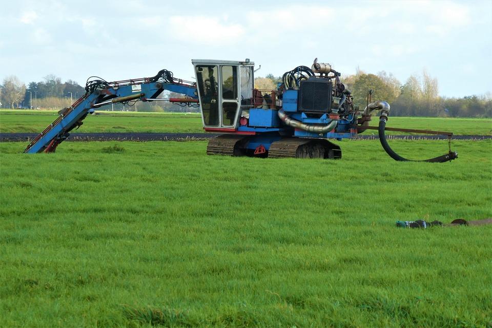 Excavator, Machine, Machinery, Agricultural Vehicle