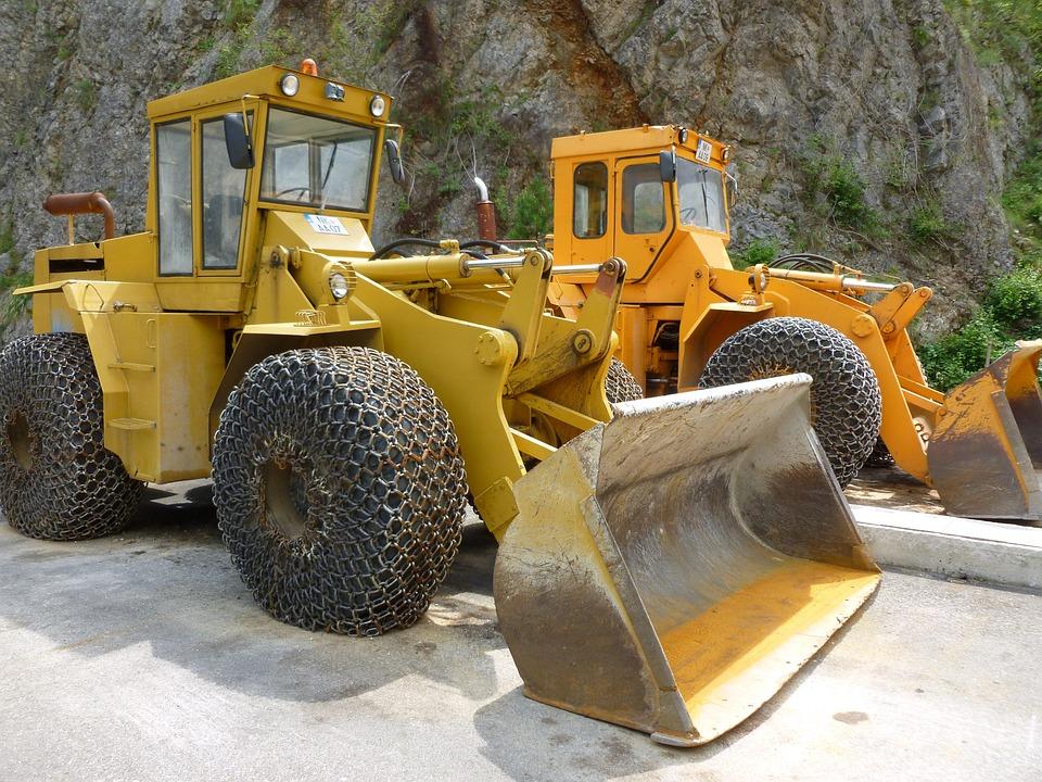 Scraper, Work, Machines