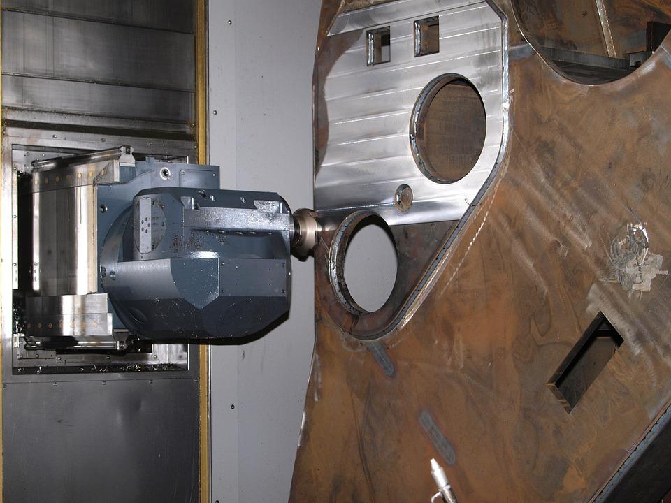 Milling, Machine Tool, Cnc, Machining, Cutting Tools