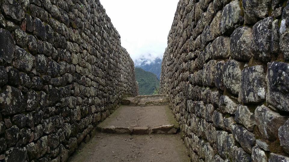 Stone Wall, Inca, Machu Picchu Pixar