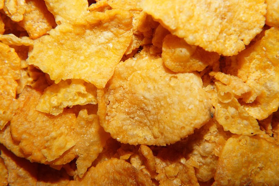 Cornflakes, Breakfast, Macro, Eat, Delicious, Cereals