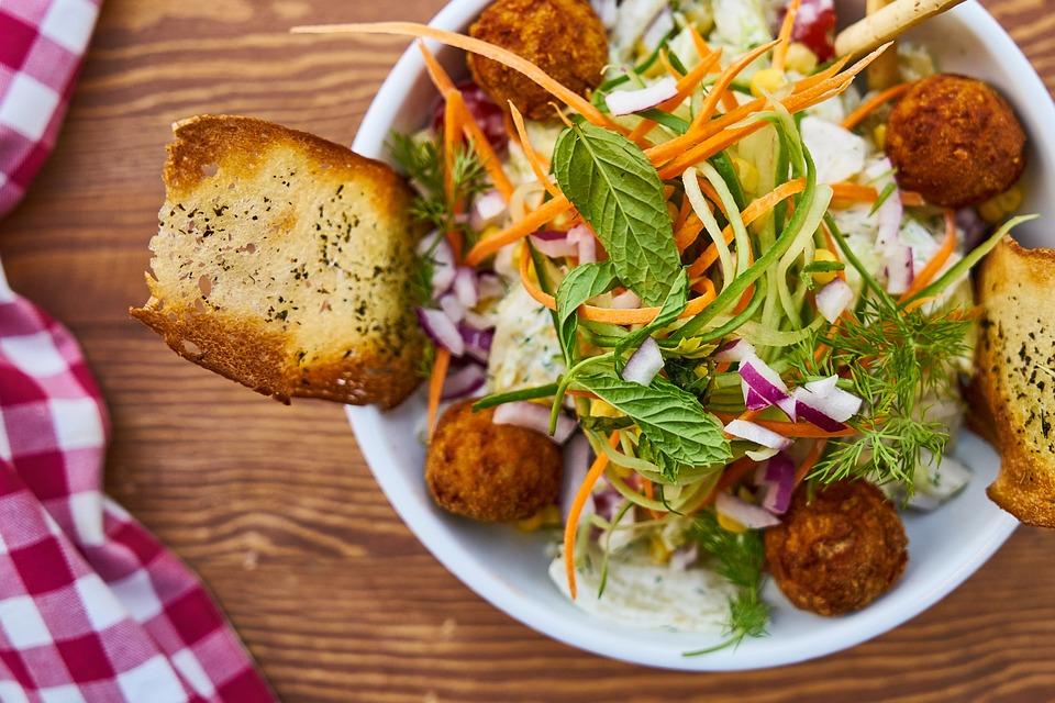 Food, Salad, Macro, Fresh, Healthy Eating, Beautiful
