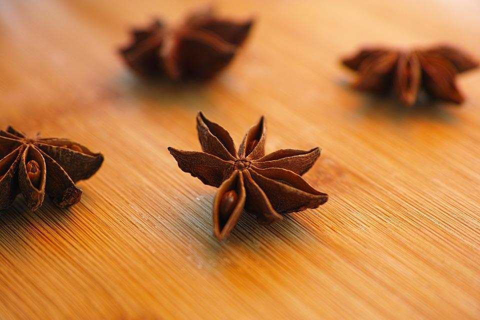 Anise, Macro, Scented, Stars, Figure, Smell, Fresh